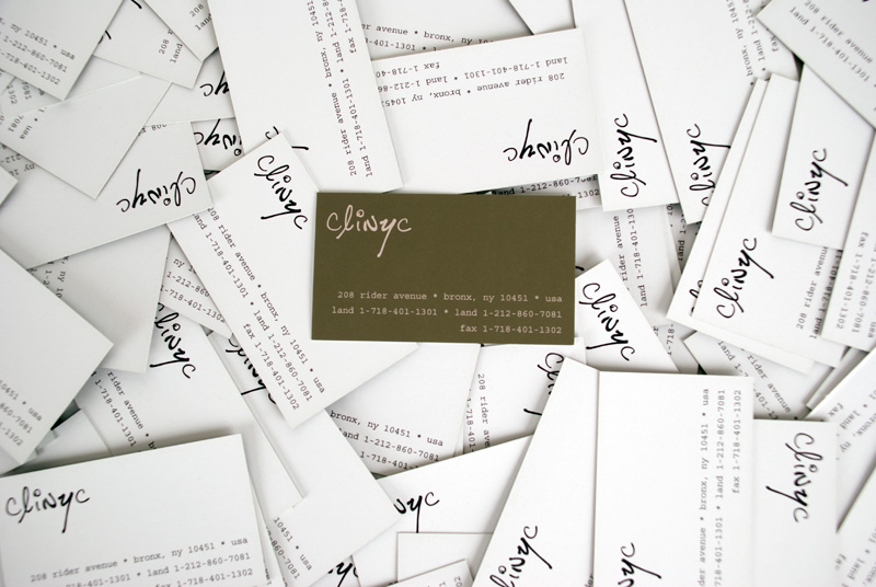 photo ~ business cards ~ clinyc ~ 2012-05-19 ~ sputnyc